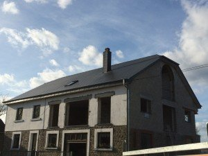 Couverture ardoises artificielles 32×60 à Wanne