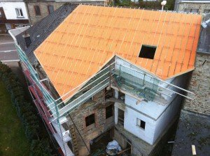 Isolation toiture avec Sarking plus