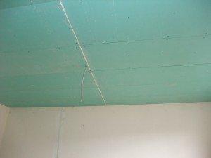 Confection de faux plafond , ossature et plaques de platres etc…